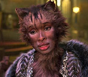 Screencapture: Jennifer Hudson as Grizabella, Cats (2019)